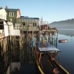 Castro, palafitos. Isla de Chiloé (Reg. Los Lagos, CHILE)