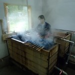 Fábrica de alfombras, Puyuhuapi (Reg. Aysén, CHILE)